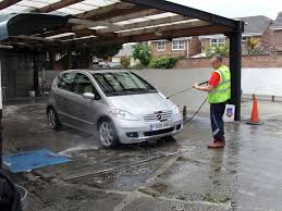 lavar coche sombra