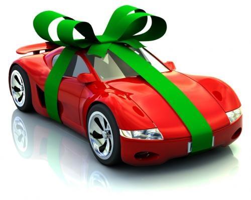 Coche regalo navidad