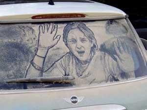 Atrapado pintura para coches